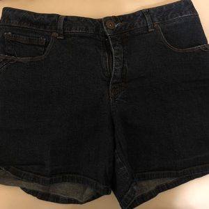 St. John's Bay Regular Womens Denim Shorts